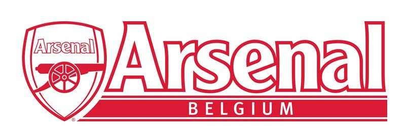 Logo Arsenal Belgium Supportclub en Peter van Muze